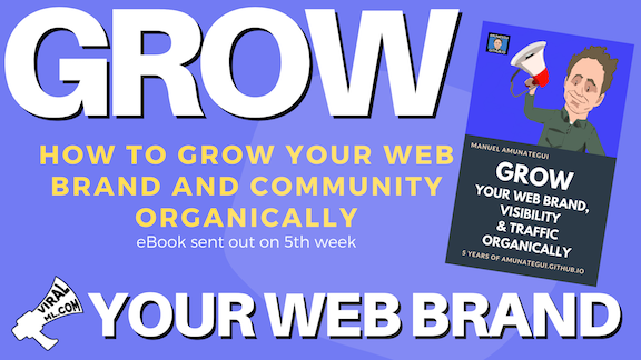 How to Grow Your Web Brand and Community Organically