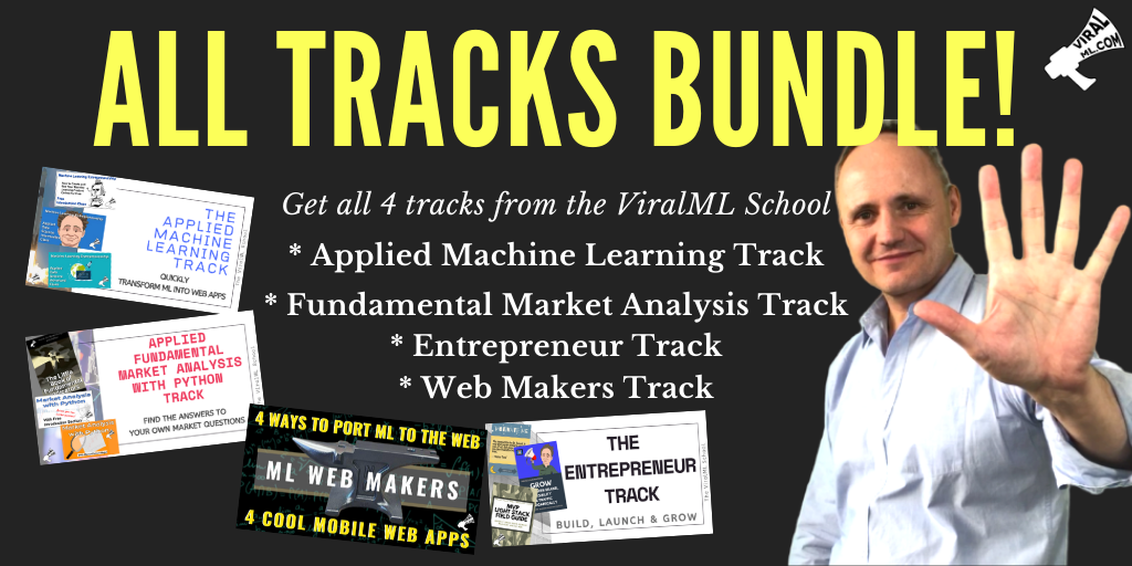 Get All 4 Tracks at the ViralML School