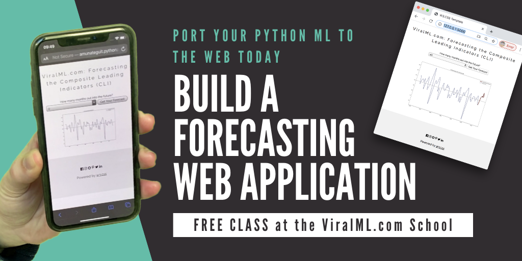 Build a Financial Web Forecasting Application