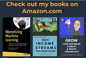 My books on Amazon.com