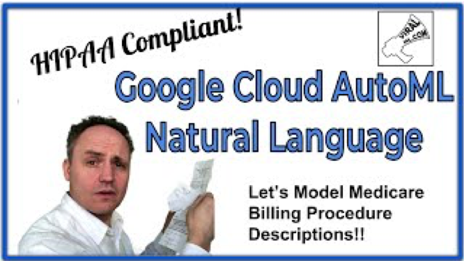 Brief Look at Google Cloud AutoML Natural Language