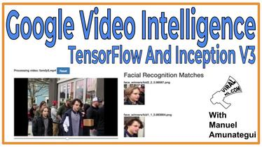 Google Video Intelligence, TensorFlow And Inception V3 - Recognizing Not-So-Famous-People