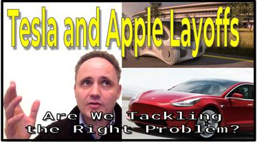 Tesla and Apple Layoffs - Why Throw Cutting Edge Tech at Bad Problems? Let's Get Flying Instead!