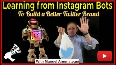 Learning From Instagram Bots to Build a Better Twitter Brand