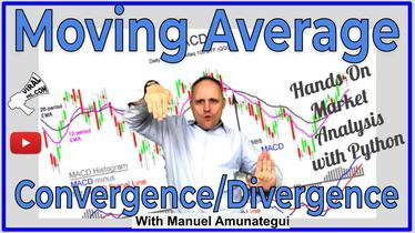 Explore the Moving Average Convergence Divergence (MACD) - Hands-On Market Analysis with Python