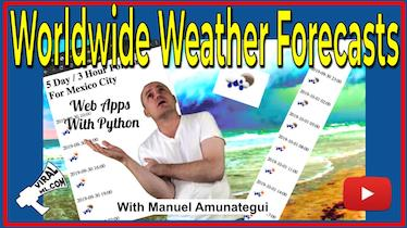 Worldwide Weather Forecast Web App - Starting a New Business - Part 8