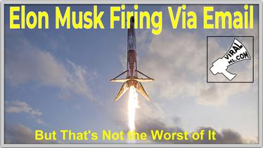 Elon Musk Firing Via Email - Cruel Yes, But That's Not the Worst of It