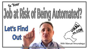 Is Your Job At Risk of Being Automated? Let's Find Out