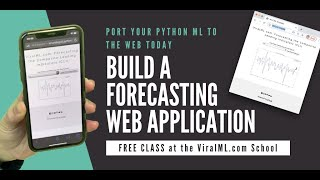 Free Class: Build A Financial Forecasting Web Application in Python using Live Data