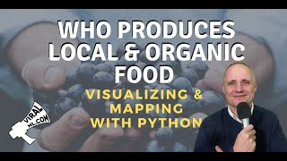 How to Map the World's Organic Farms & Farmer's Markets with Python and OpenStreetMap