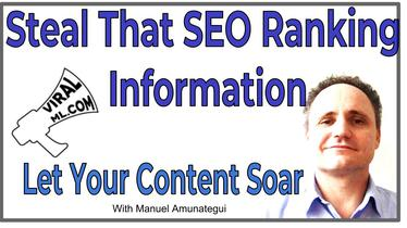 Steal That SEO Ranking Information and Let Your Content Soar, Guilt-Free