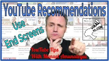 Add YouTube Recommendations - Make Use of Your End Screens!