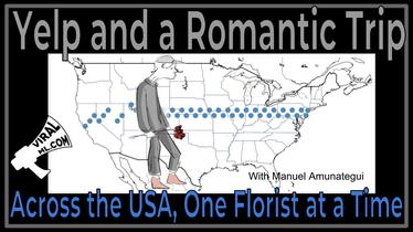 Yelp v3 and a Romantic Trip Across the USA, One Florist at a Time