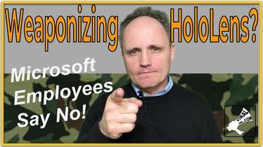 Weaponizing HoloLens? Microsoft Employees Say No!
